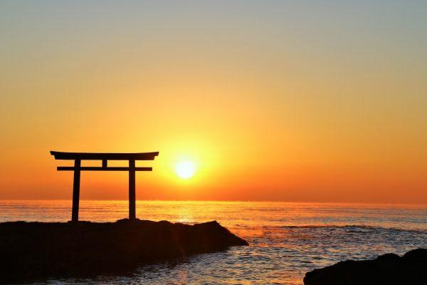 Japan Torii Gate Sunset